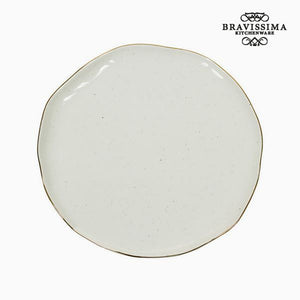 Assiette plate - Collection Kitchen's Deco | leadershopping.fr