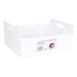 Panier Multi-usages Jano Flexible Plastique Blanc | leadershopping.fr