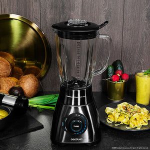 Bol mixeur Cecotec Power Black Titanium 1800 Smart 2,1 L 1800W | leadershopping.fr