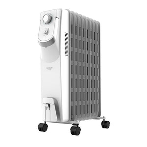 Radiateur à Huile (9 modules) Cecotec Ready Warm 5800 Space 360º 2000W Blanc | leadershopping.fr