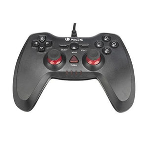 Contrôle des jeux NGS NGS-GAMING-0015 PC/PS3 USB LED Noir | leadershopping.fr