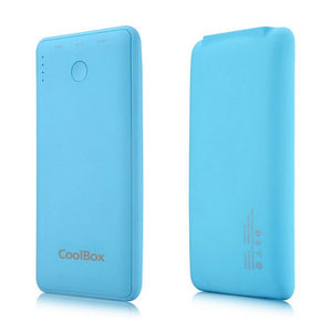 Power Bank CoolBox COO-PB6K-BL 6000 mAh Bleu