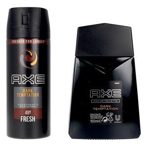 Set de Parfum Homme Dark Temptation Axe EDT (3 pcs)