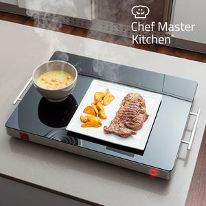 Chauffe-Plat Chef Master Kitchen 400W | leadershopping.fr