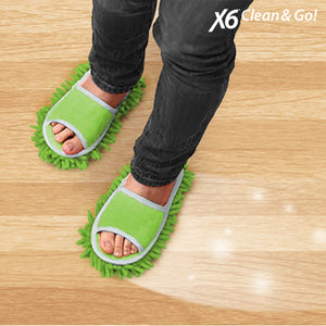 Chaussons-Patins X6 Clean & Go! | leadershopping.fr