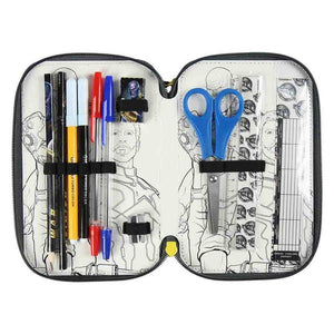 Pochette à crayons triple The Avengers 78650 | leadershopping.fr