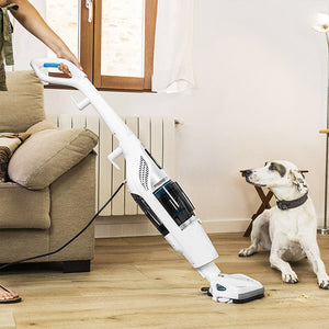 Aspirateur Cyclonique et Vaporetto Cecoclean Steam & Clean 5055 1,2 L 1550W Blanc