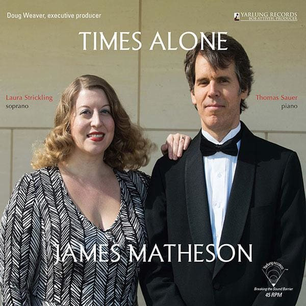 James Matheson - Times Alone [LP] - Vinyl-LP