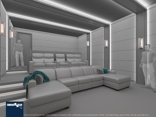 CinemaTech Luxury Seating and Acoustic Treatments