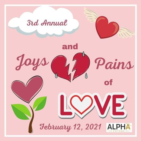Open call for submissions for the Joys and Pains of Love's