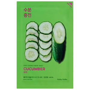 cucumber extract facial sheet mask for all skin types