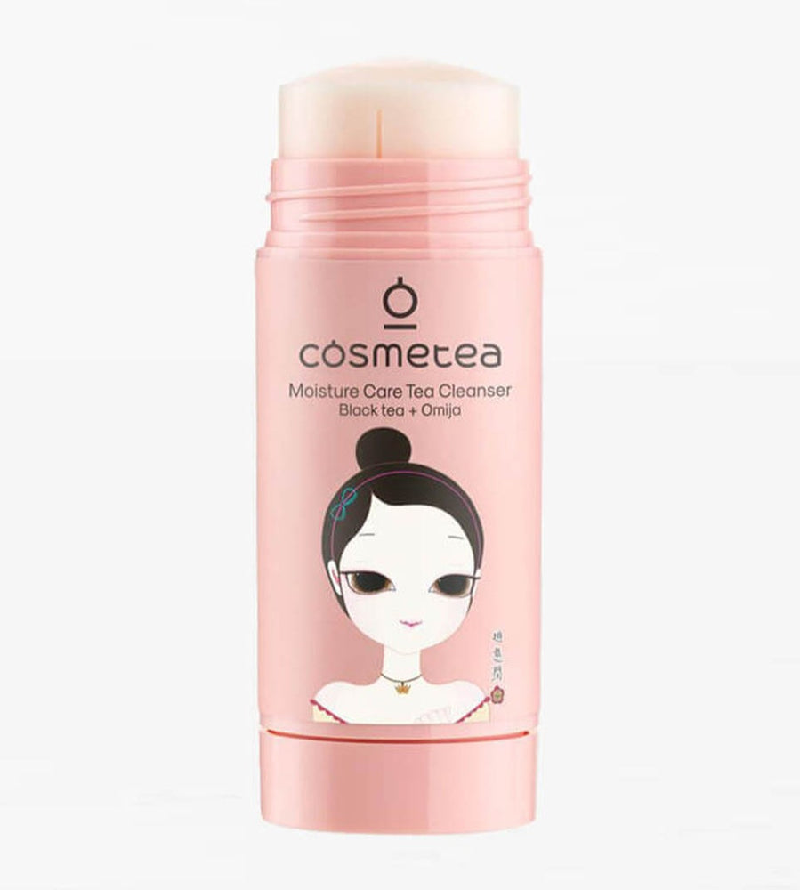 Load image into Gallery viewer, COSMETEA Black Tea Moisture Care Cleanser
