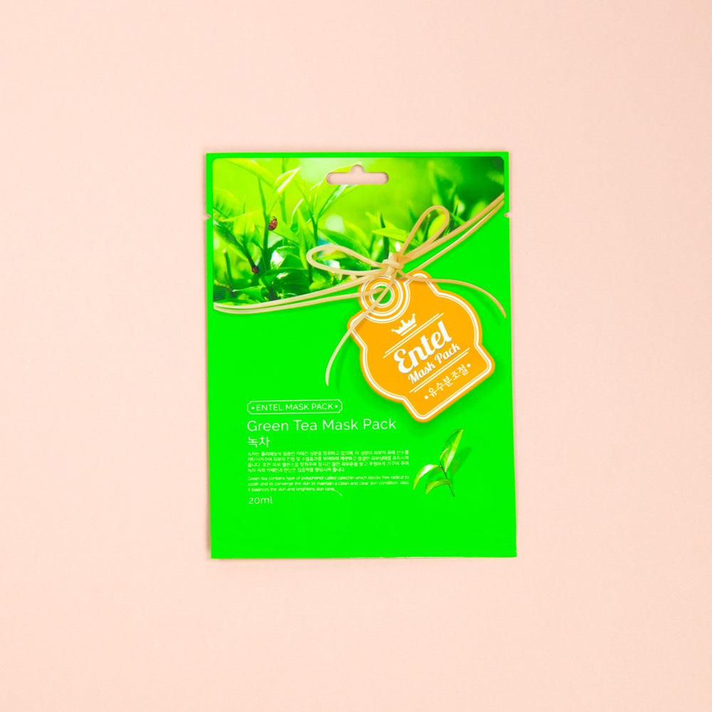 MALIE+ Green Tea Essence Mask