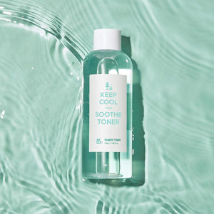 soothing toner made with bamboo extract for sensitive skin