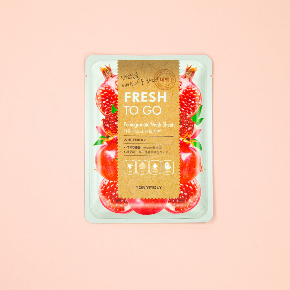TONY MOLY Fresh To Go Pomegranate Sheet Mask