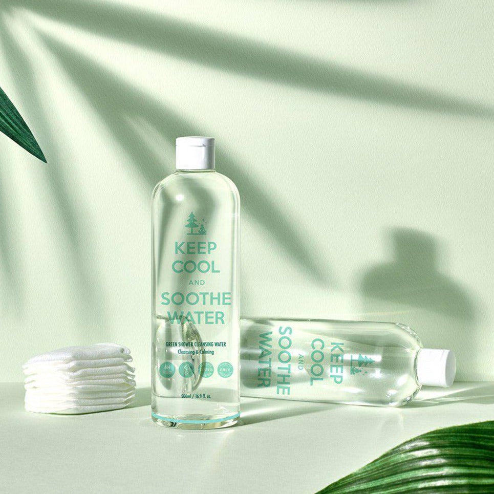 bamboo infused micellar cleansing water to remove makeup