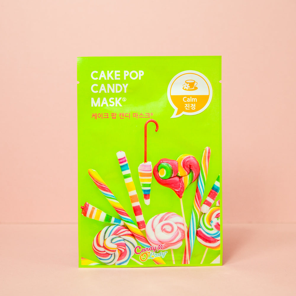 calming facial sheet mask with aloe extracts