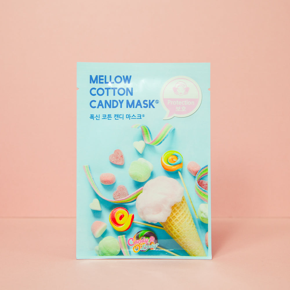 hydrating and protecting facial sheet mask for damaged skin