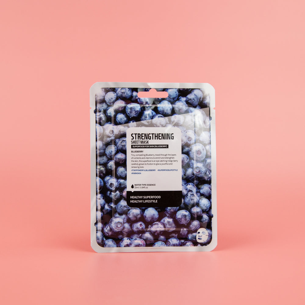 FARM SKIN Super Food Blueberry Sheet Mask