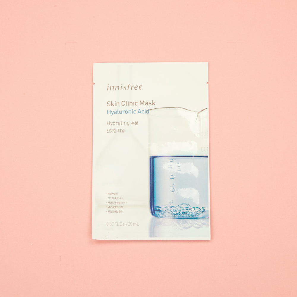 Korean facial sheet mask from Innisfree. Infused with collagen to help anti-aging.