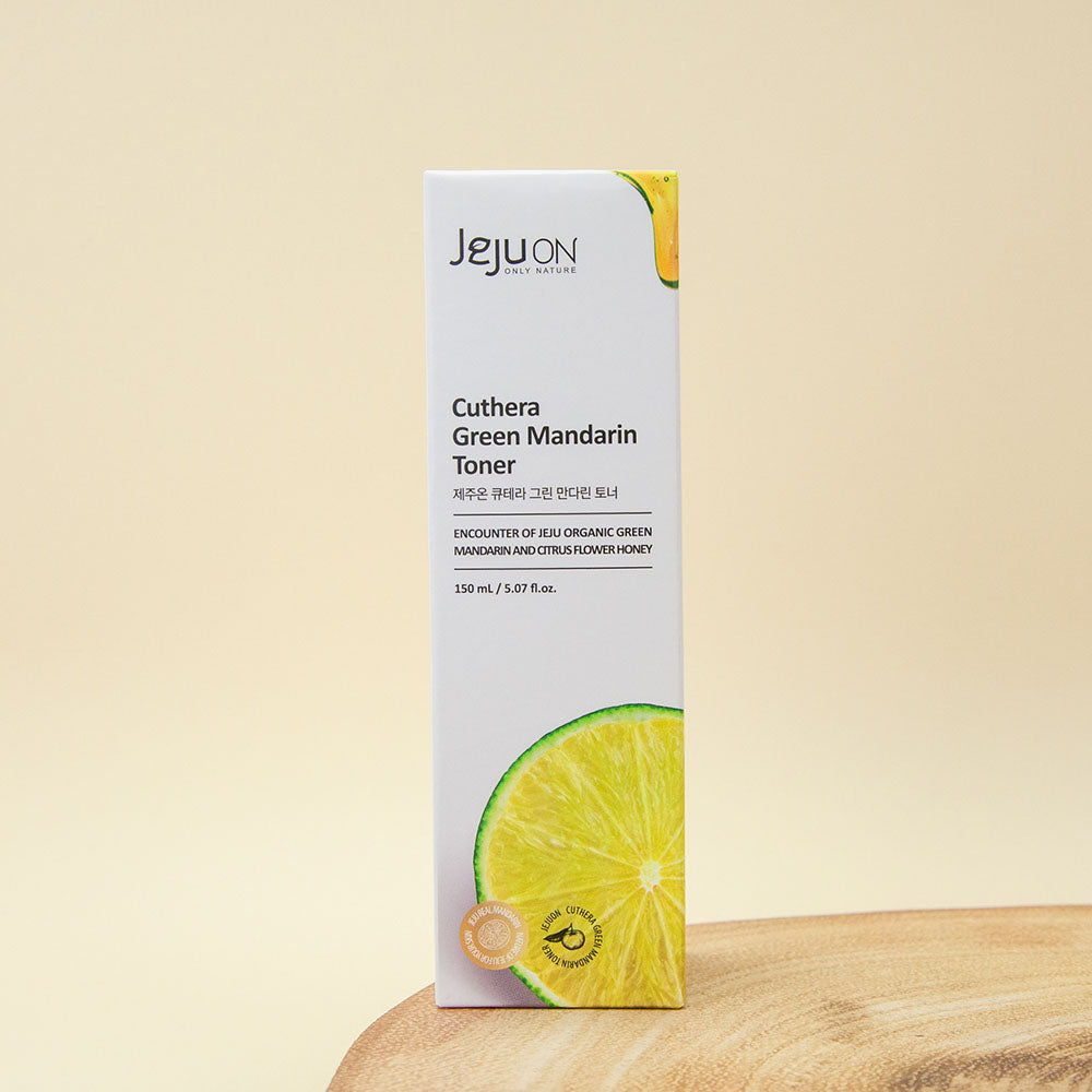 facial toner from Korea with soothing extracts of mandarin lime and rosemary