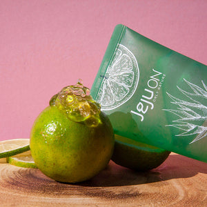 Load image into Gallery viewer, mandarin lime infused aloe vera gel for sensitive skin