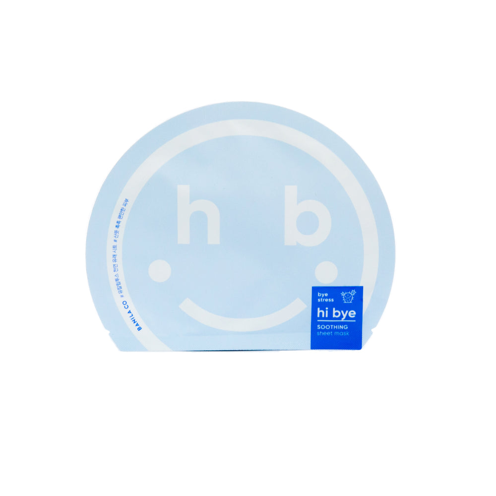 BANILA CO Hi Bye Soothing Sheet Mask