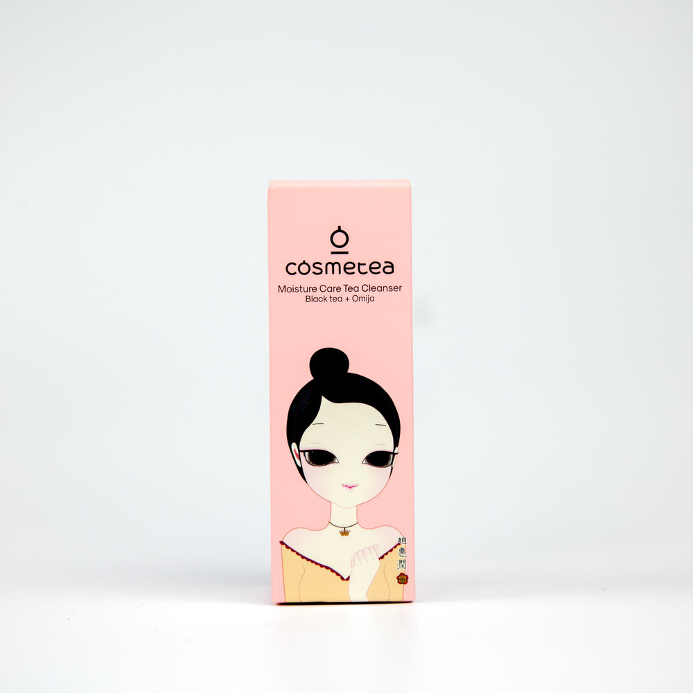 COSMETEA Black Tea Moisture Care Cleanser