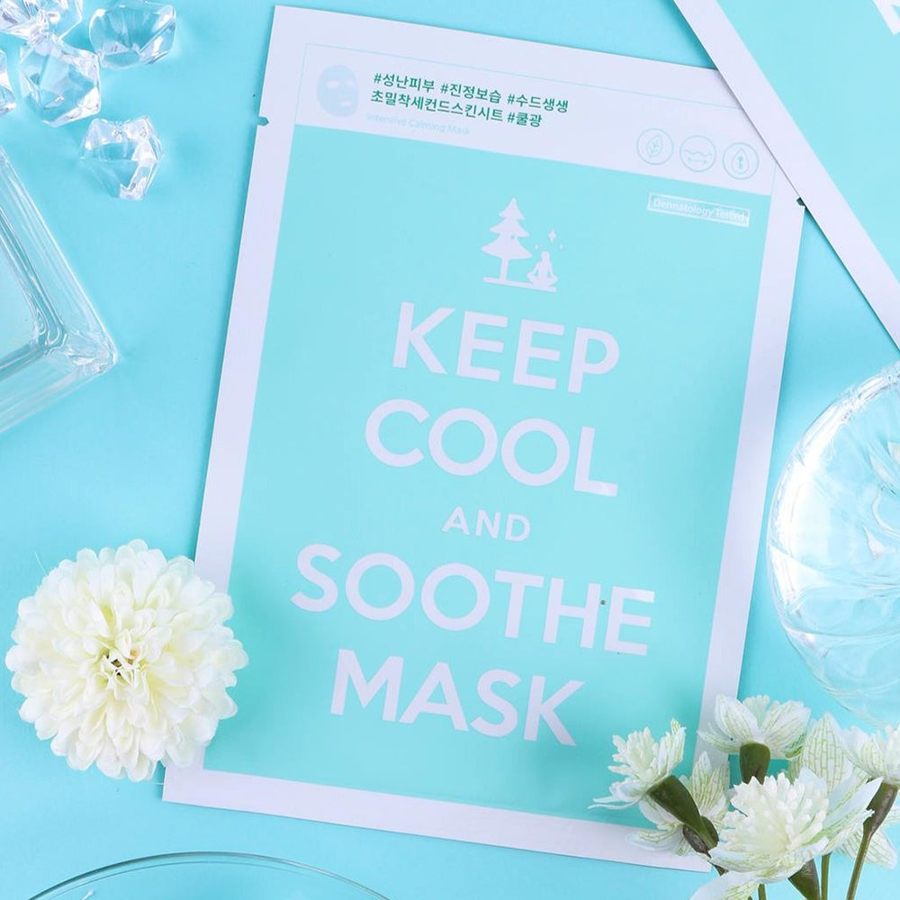 soothing facial sheet mask with bamboo extract