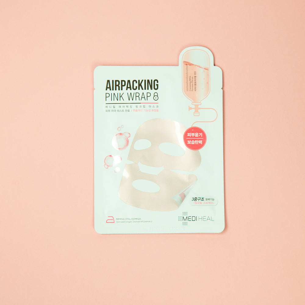 MEDIHEAL Airpacking Mask Pink Wrap