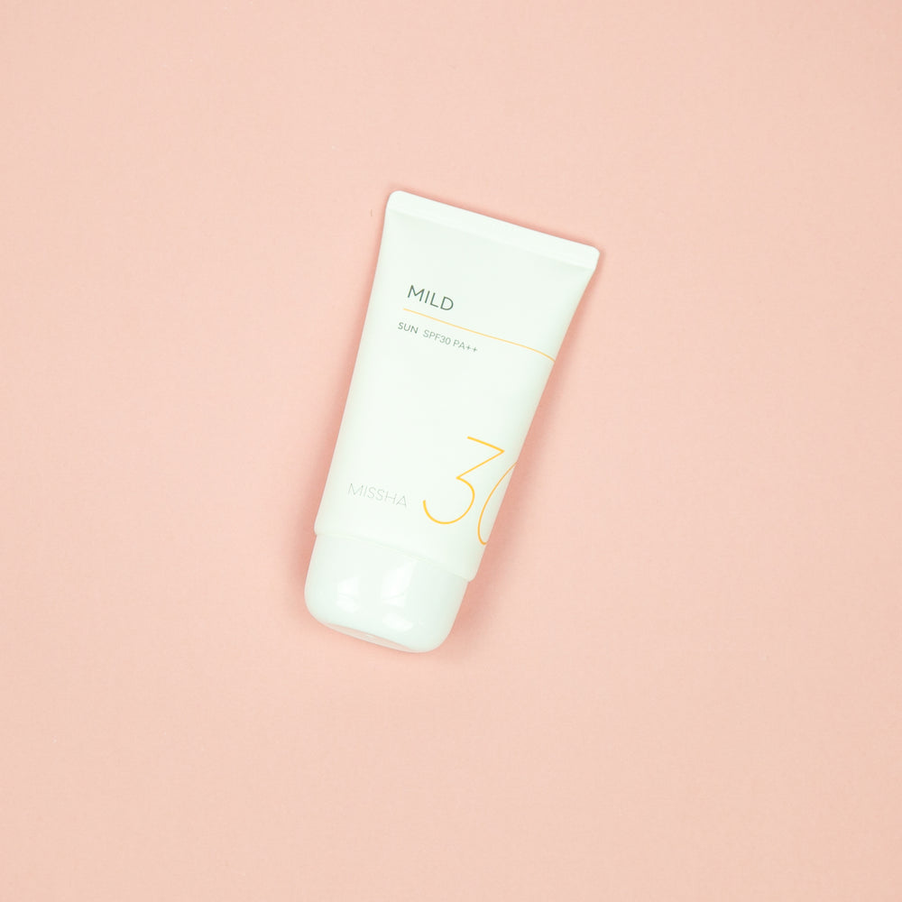 mild spf that is suitable for sensitive skin types spf30