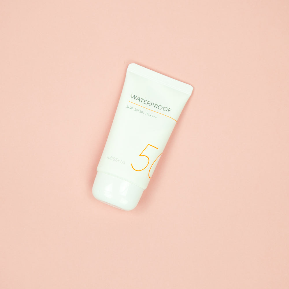 Load image into Gallery viewer, missha spf 50 waterproof sun screen for all round protection