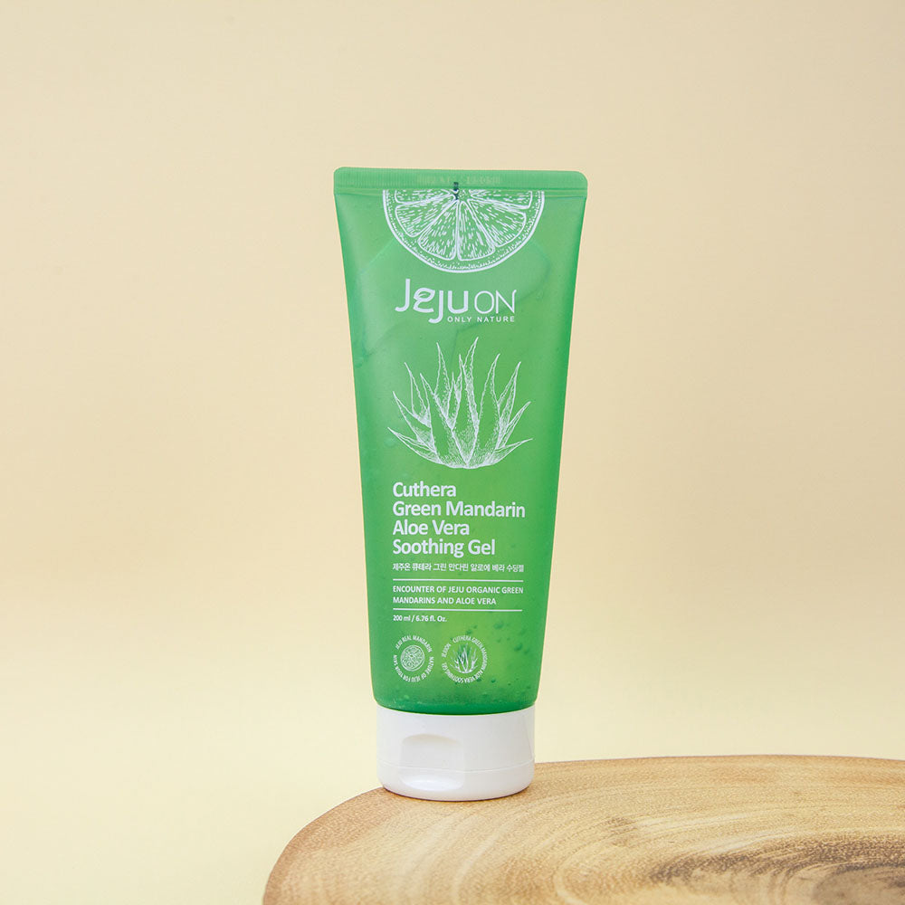 soothing aloe vera gel for irritated or sunburnt skin
