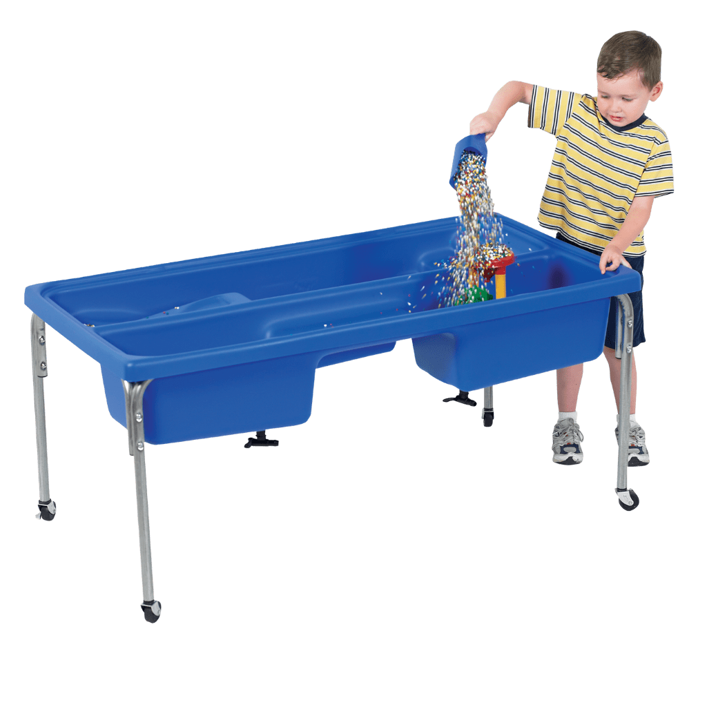 "Children's Factory Discovery Sensory Table - 18"" H with 10 lbs Kidfetti®"