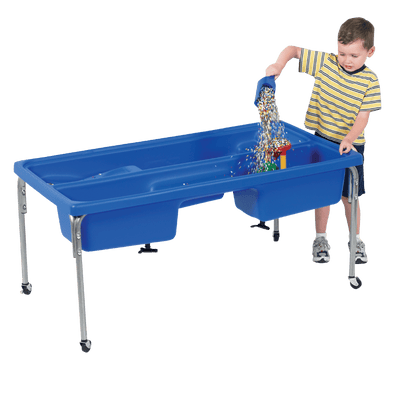 "Children's Factory Discovery Sensory Table - 24"" H with 10 lbs Kidfetti®"