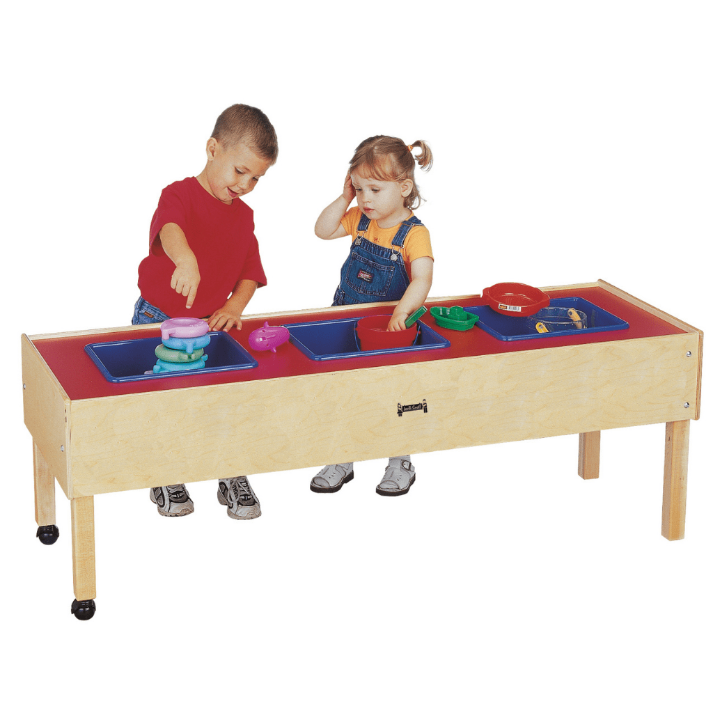 Jonti-Craft® Toddler 3 Tub Sensory Table 0886JC