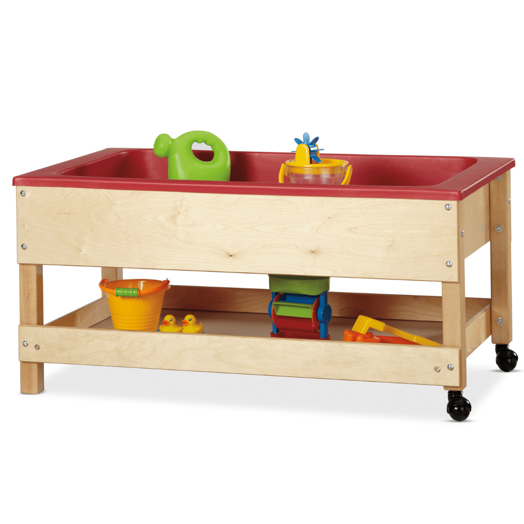 Jonti-Craft® Toddler Sensory Table with Shelf