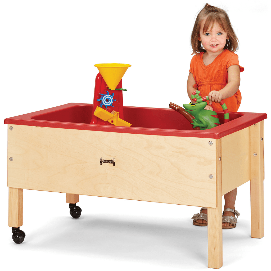 Jonti-Craft Toddler Space Saving Sensory Table 2867JC