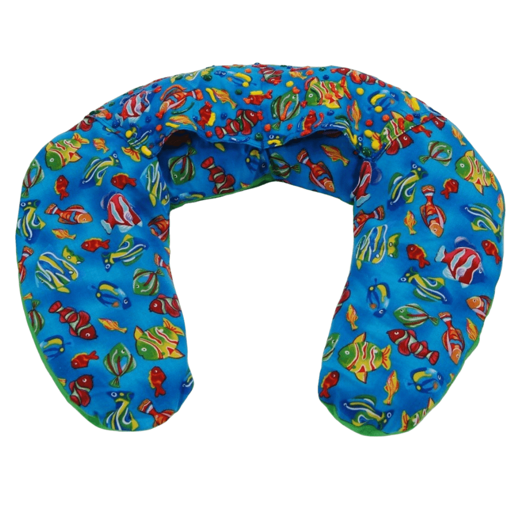 Weighted U-Shape Sensory Snuggle by Weighted Wearables - 5 lbs