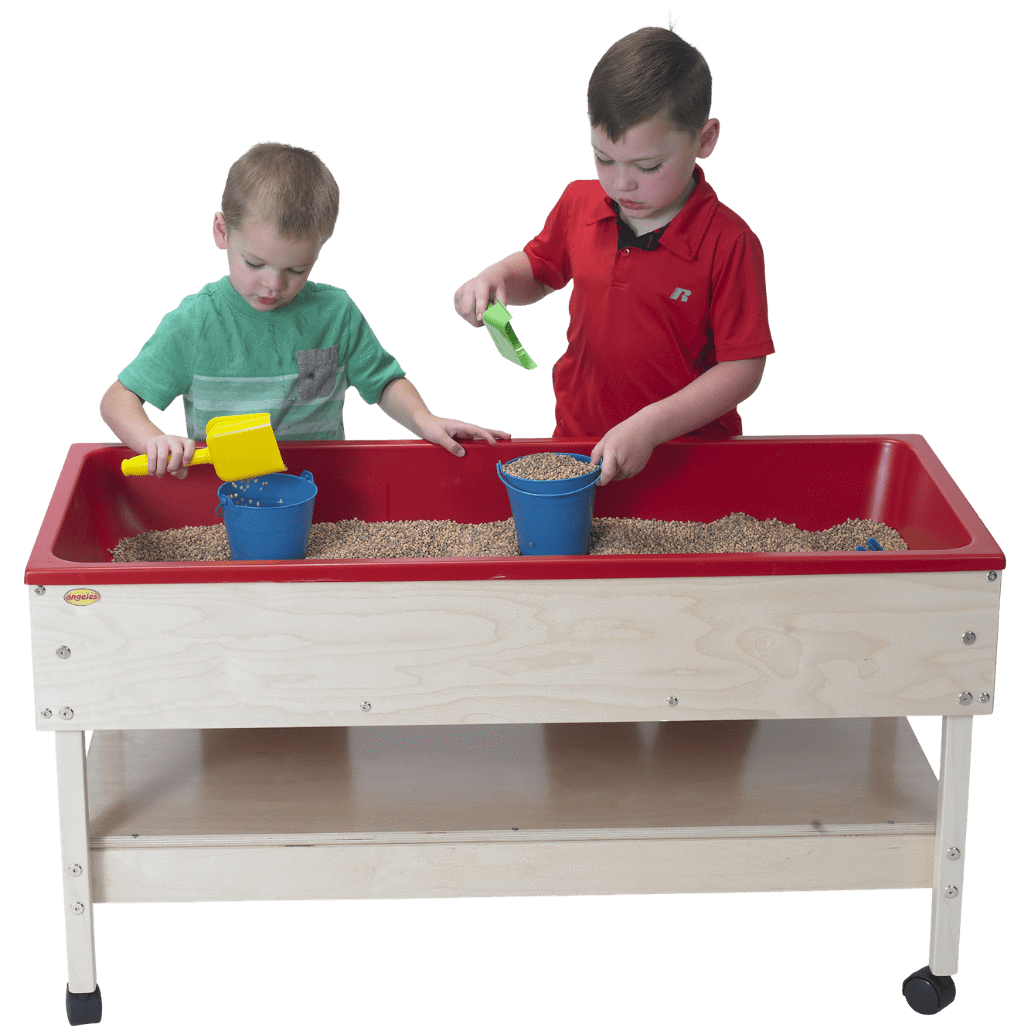 Sand & Water Table with Shelf + 10 lbs Kidfetti®