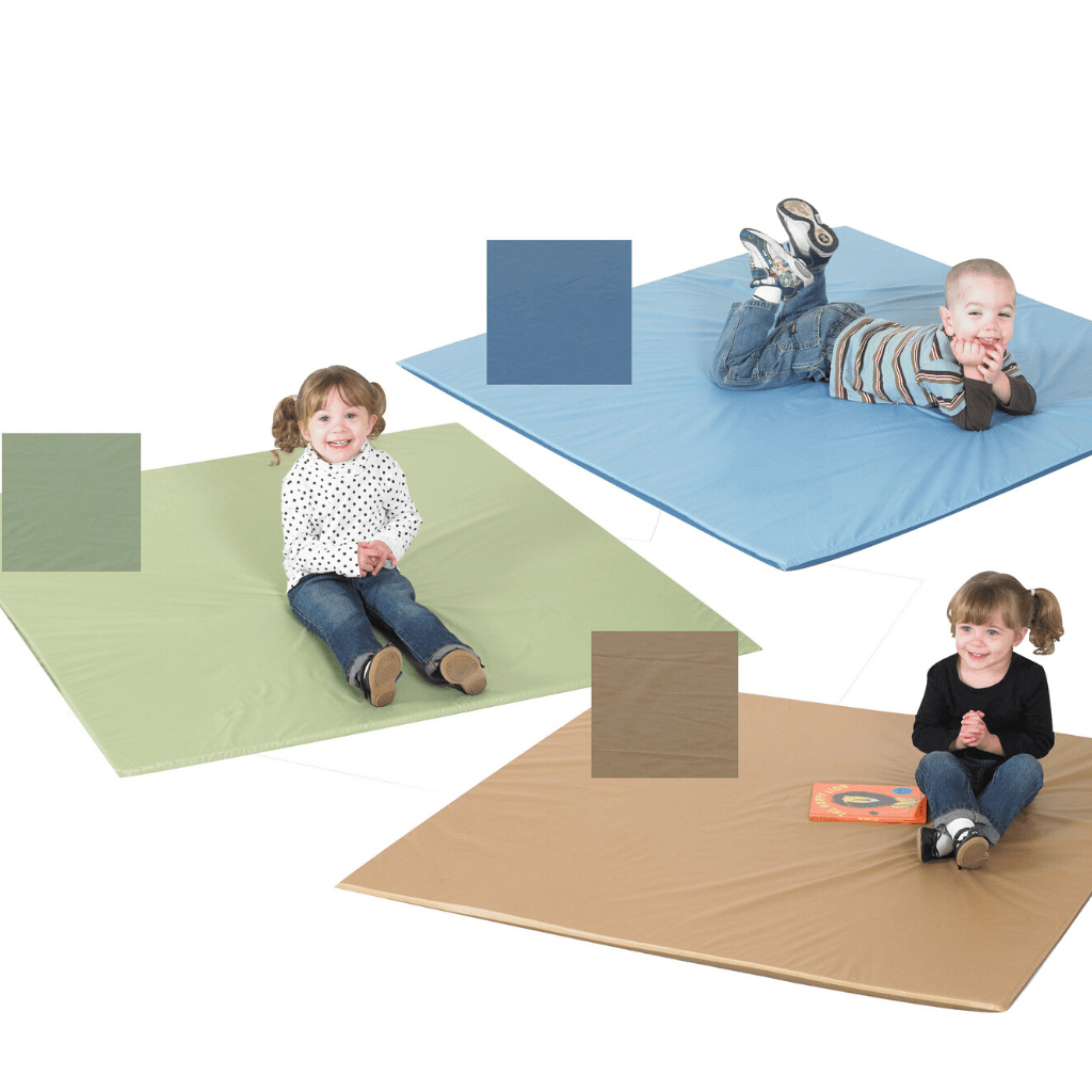 Set of 3 Activity Mats - Woodland Two-tone