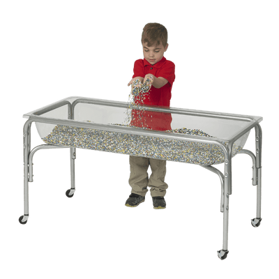"Large Clear Sand and Water Table by Children's Factory 24"" H"