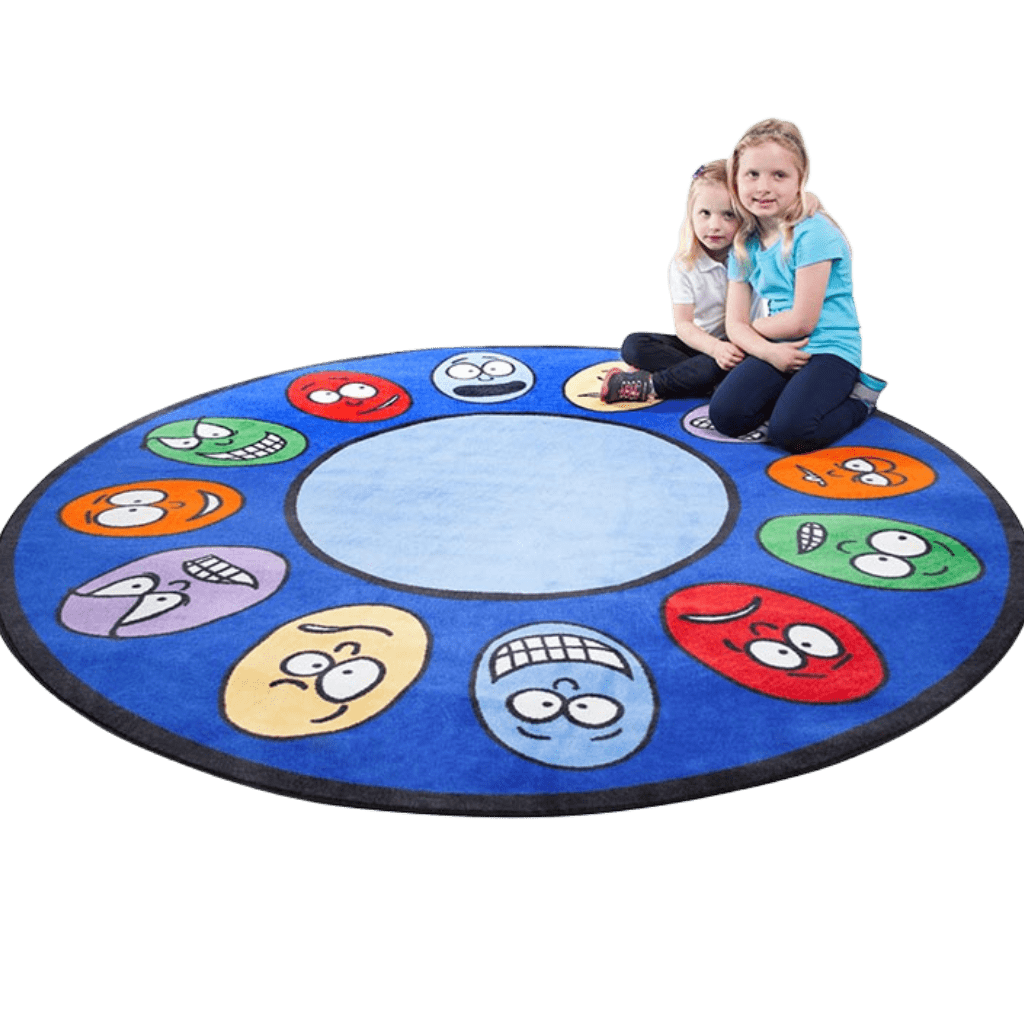Expressions Large Round Rug