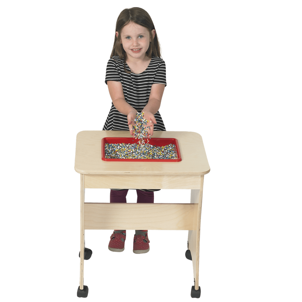 Rectangular Shape Sensory Table