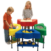Red Sensory Table with 10 lbs of Kidfetti®