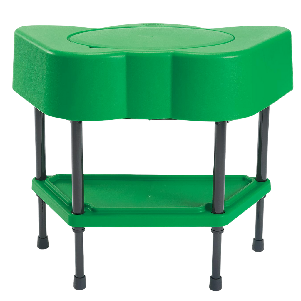 Green Sensory Table with 10 lbs of Kidfetti®