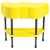 Yellow Sensory Table with 10 lbs of Kidfetti®