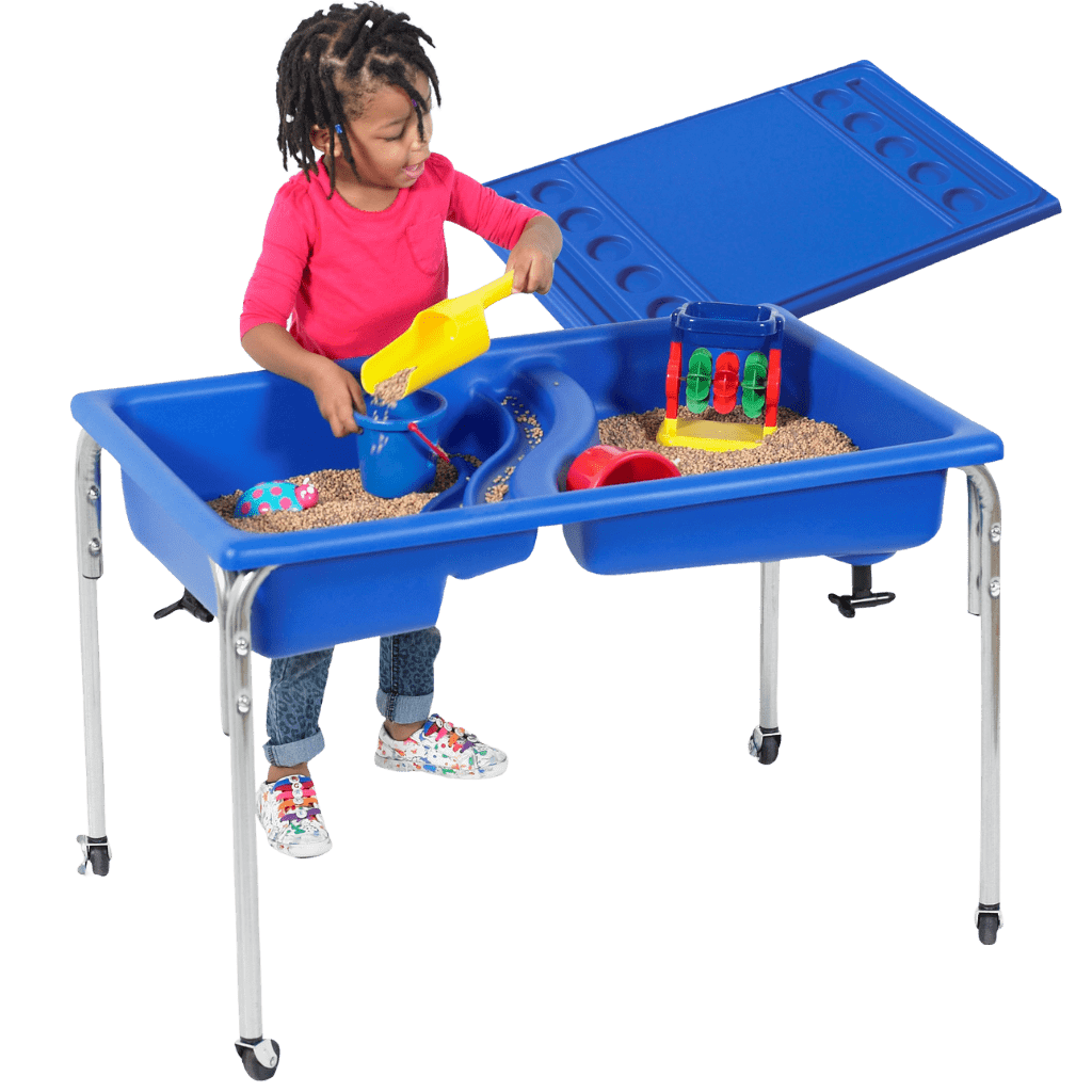Children's Factory Neptune Table & Lid Set – 24″h