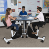Kidsfit Three Person Pedal Desk