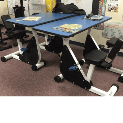 Two Person Pedal Desk Kidsfit